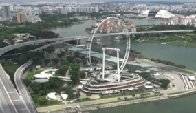 Singapore flyer fengshui